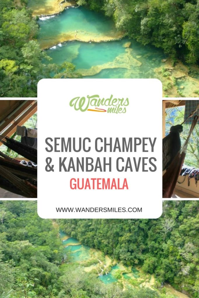 Guide to Semuc Champey & Kanbah Caves in Guatemala, Central America. Travel blog by Wanders Miles.