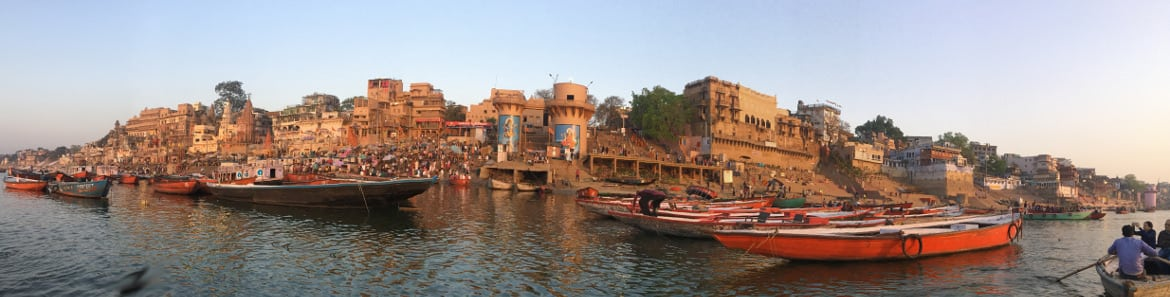 Image of varanasi panoramic