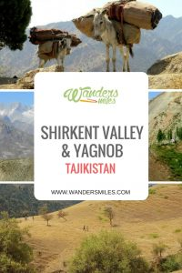 Guide to Shirkent Valley and Yagnob in Tajikistan