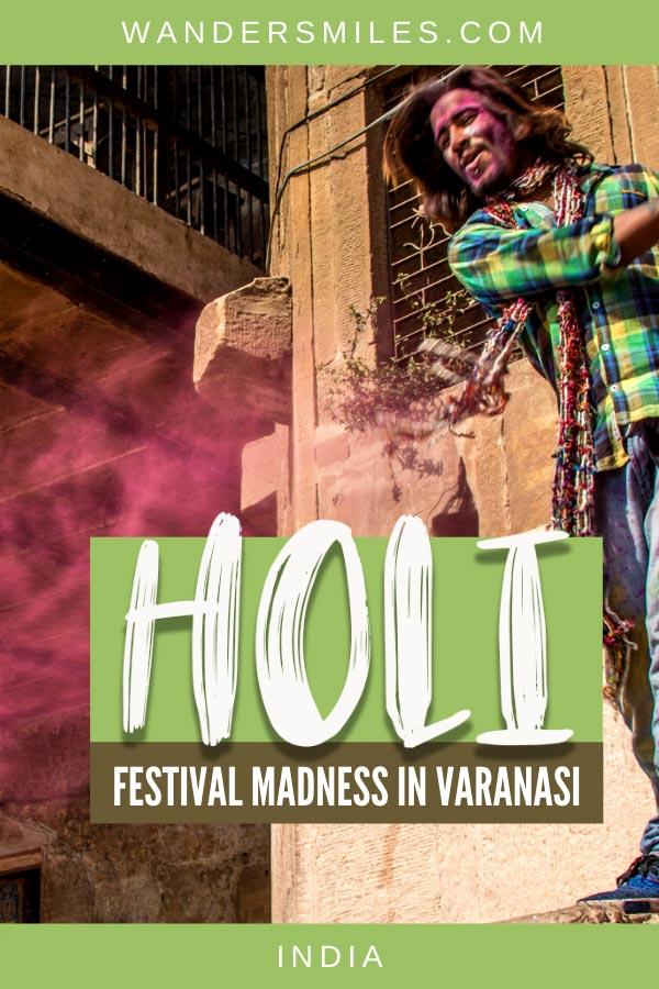 Tips on preparing for the crazy Holi in Varanasi