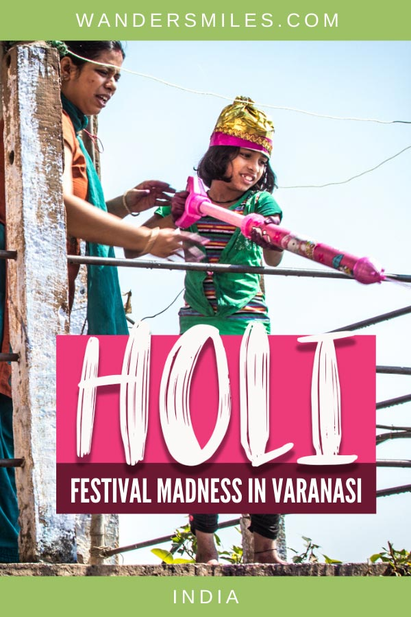 Guide on preparing for Holi in Varanasi