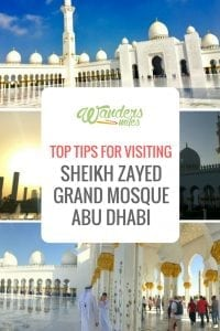 Image of GSheikh Zayed grand mosque guide