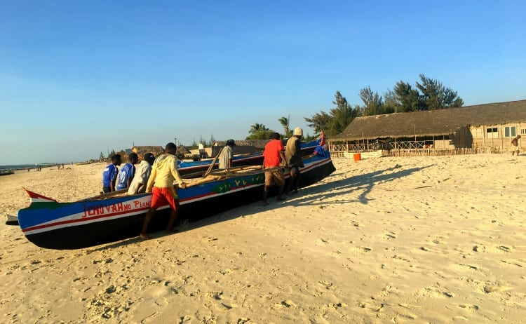 vezo fishermen in Morondava, Madagascar
