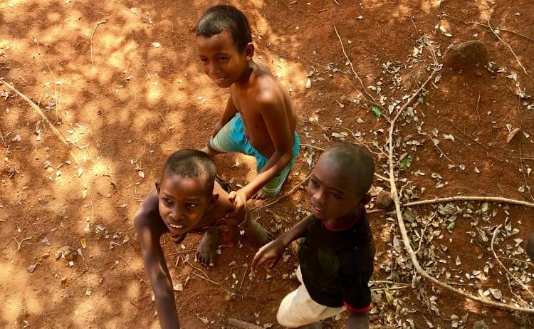 Image of Malagasy village boys