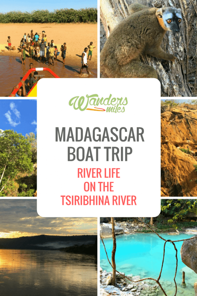 Boat trip down the Tsiribhina River in Madagascar. Travel blog by Wanders Miles.