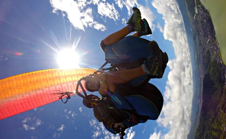 GO PARAGLIDING OVER PHEW LAKE IN POKHARA // NEPAL