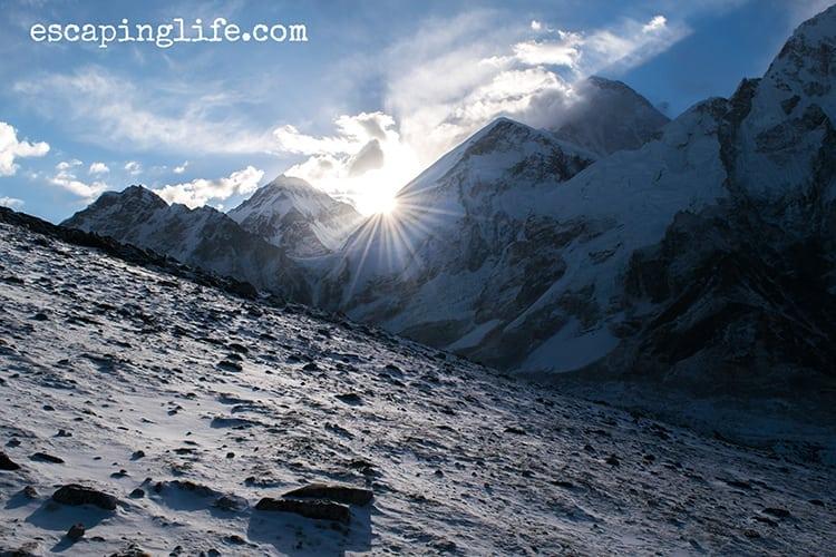 Sunrise at Kala Pattha, Mount Everest