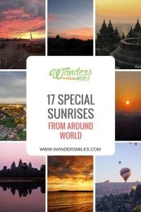 17 special sunrises around the world by travel bloggers