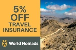 5% Discount off World Nomads Insurance