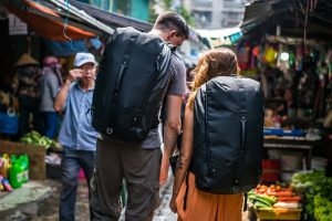 Kosan Travel Pack is hands-free for busy days exploring