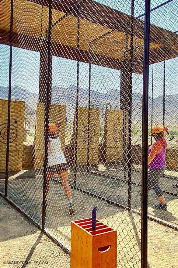 Archery at Hatta Wadi Hub