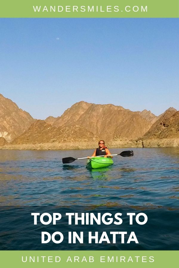 Hatta is only 2 hours from Dubai where you will find fun activities such as kayaking, mountain biking and trekking in Hajar Mountains. #unitedarabemirates #adventuretravel #hatta