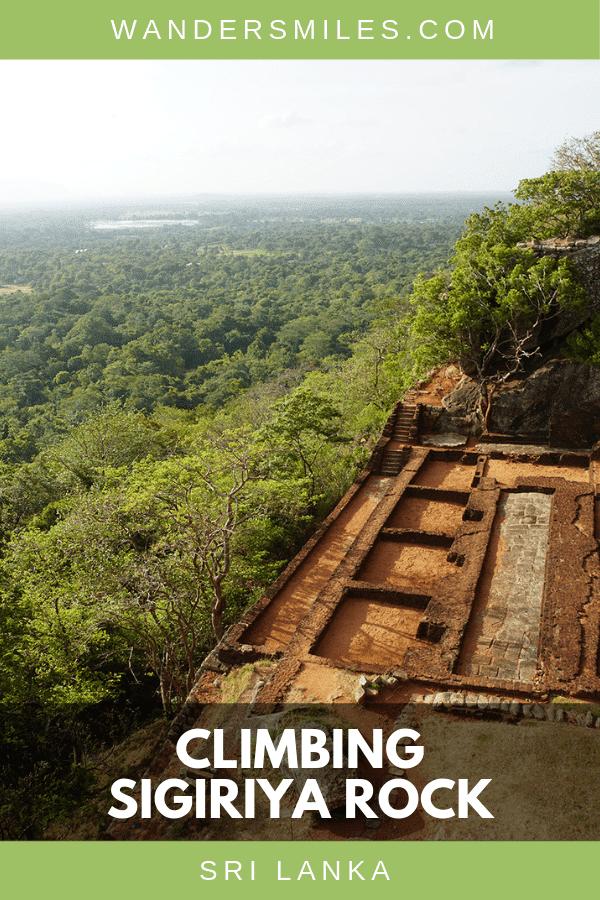 Guide on climbing Sigiriya Rock (Lion Rock Fortress) in the northern Matale District of Sri Lanka #visitsrilanka #sigiriyarock