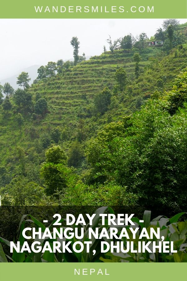 Two day trek from Changu Narayan, Nagarkot and Dhulikhel in Nepal