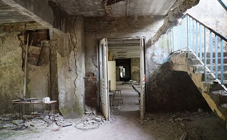 Abandoned school at Pripyat