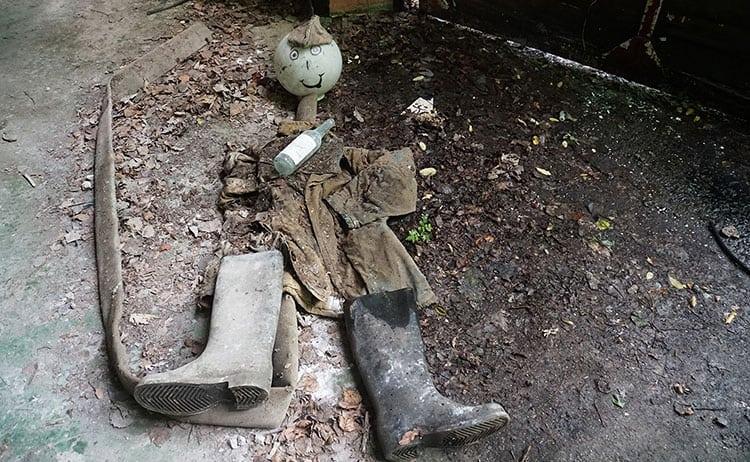 Found objetcs at Chernobyl