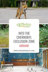 Exploring the Chernobyl exclusion zone and the abandoned town of Pripyat in the Ukraine. Travel blog by Wanders Miles.