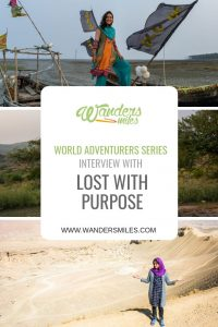 Wanders Miles world Adventurer Series - In terview with Alex from Lost with Purpose
