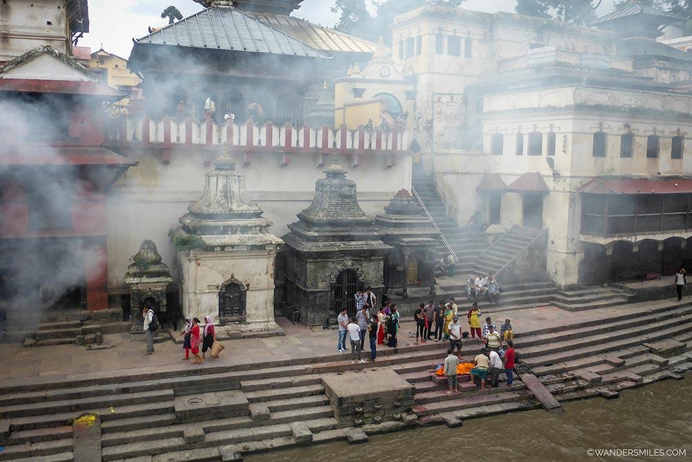 Pashupatinath Temple - UNESCO-site-in-Kathmandu - Wanders Miles