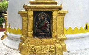 Swayambunath temple in Kathmandu