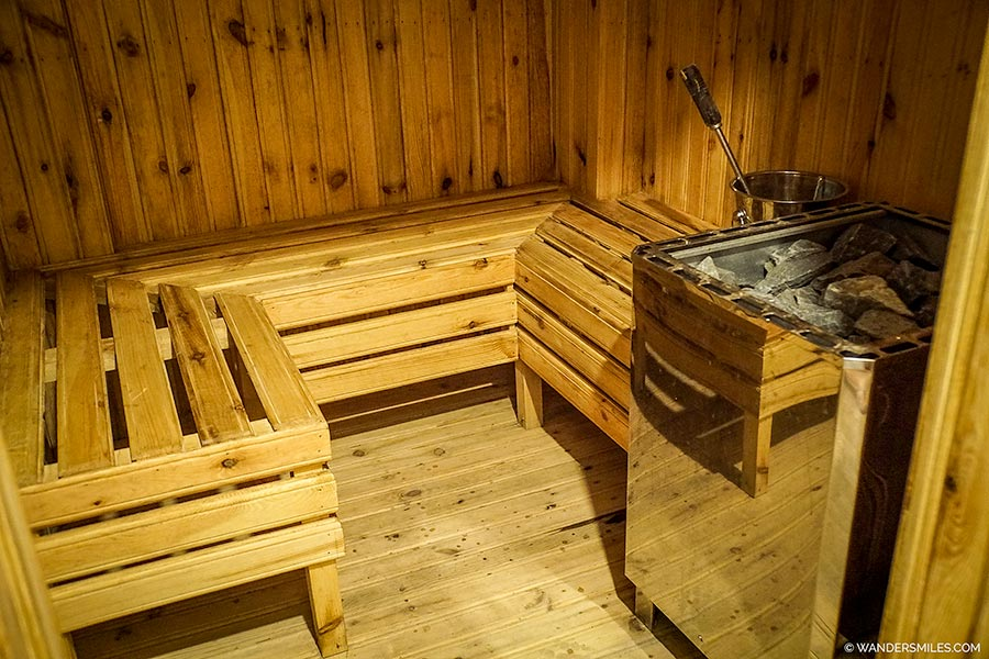 Sauna at Hotel Mystic Mountain, Kathmandu Valley