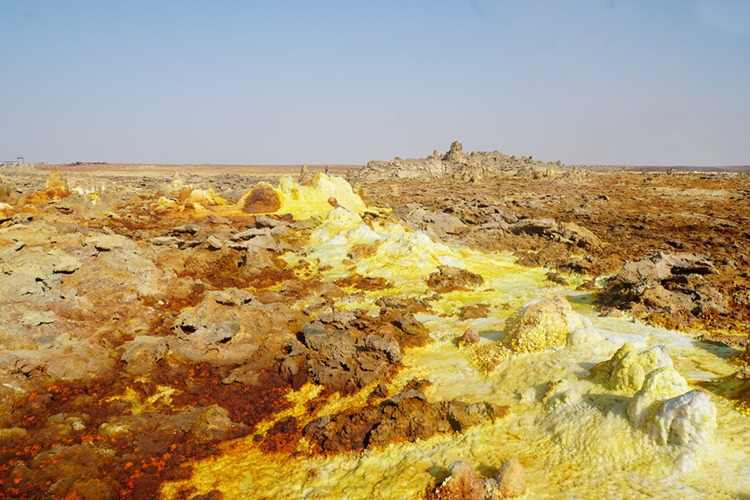 Dallol – hot and alien landscape // Ethiopia