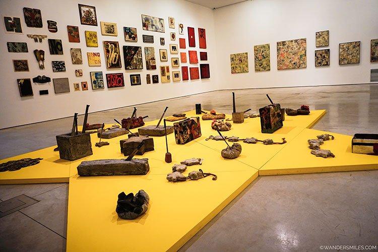 Boris Lurie temporary exhibition at the MOCAK art gallery in Krakow