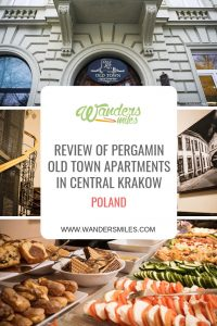 Review of Pergamin Old Town Apartments. Budget accommodation perfectly located in Central Krakow in the middle of all the sights to see. Travel blog by Wanders Miles.
