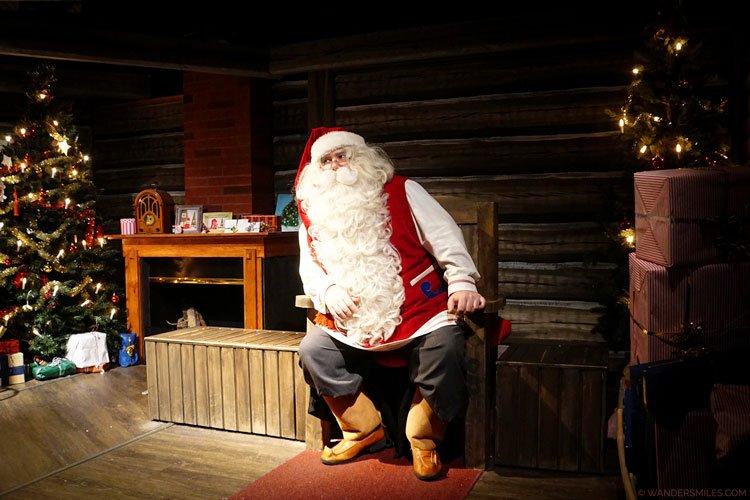 Santa's cave in Santa Clause Village