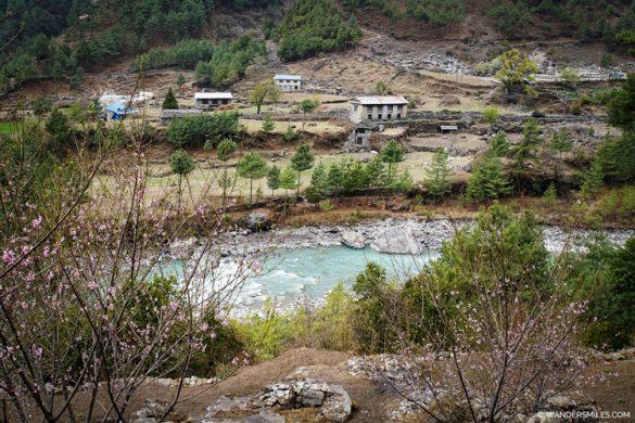 River at Phakding on Everest Base Camp trail