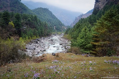 River on the Everest Base Camp Trail