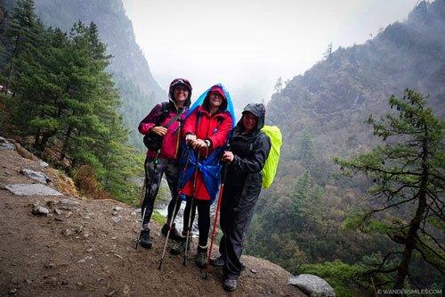 Trekking upwards by Jorsalle on Everest Base Camp Trail