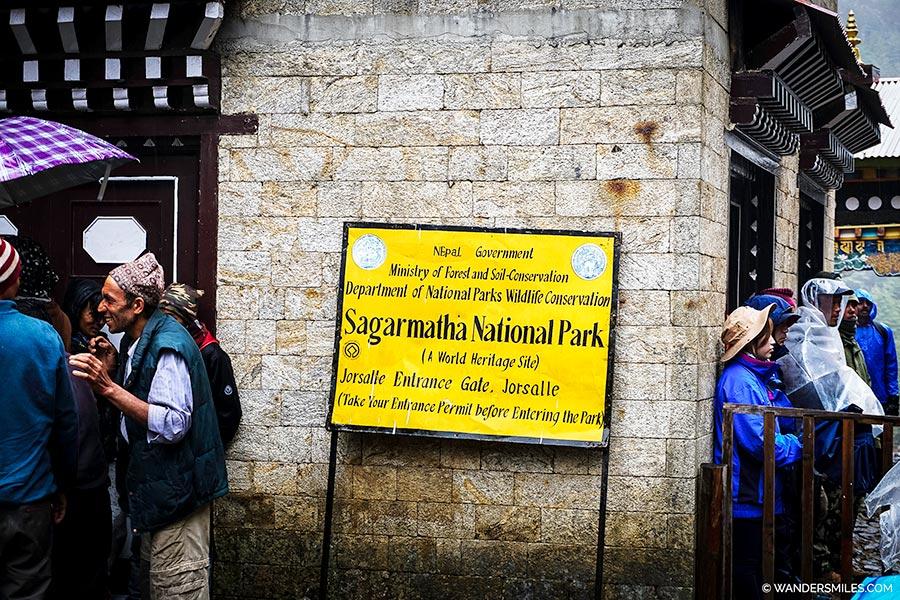 Monjo - The entrance gate to Sagarmatha National Park