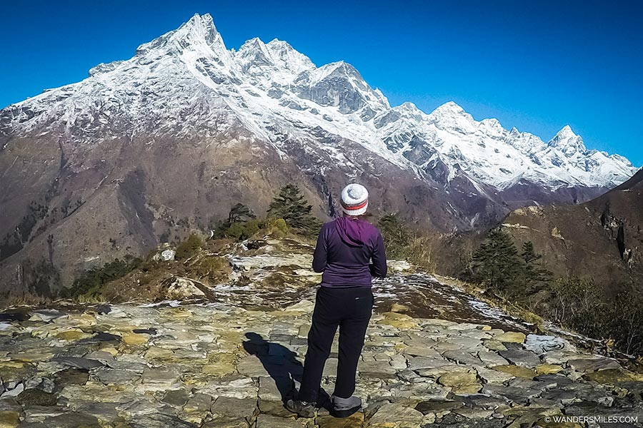 Waiting for the helicopter at Tengboche | Blog: Why I didn't reach Everest Base Camp