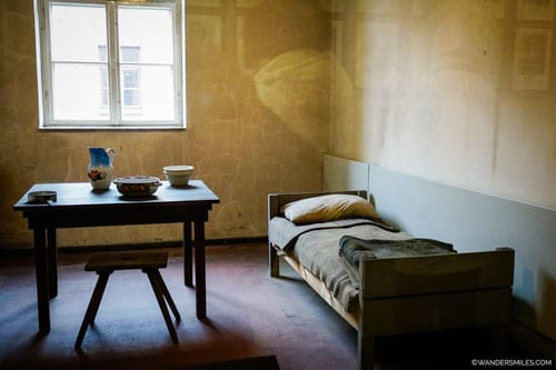 Bedroom at Auschwitz