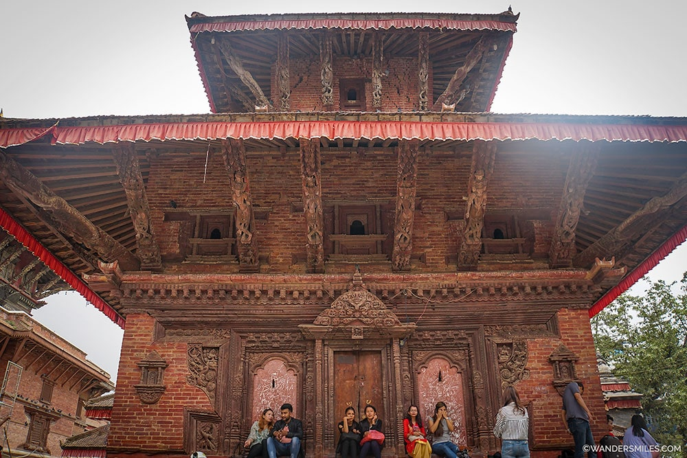 Jagannath Temple in Durbar Square, Kathmandu