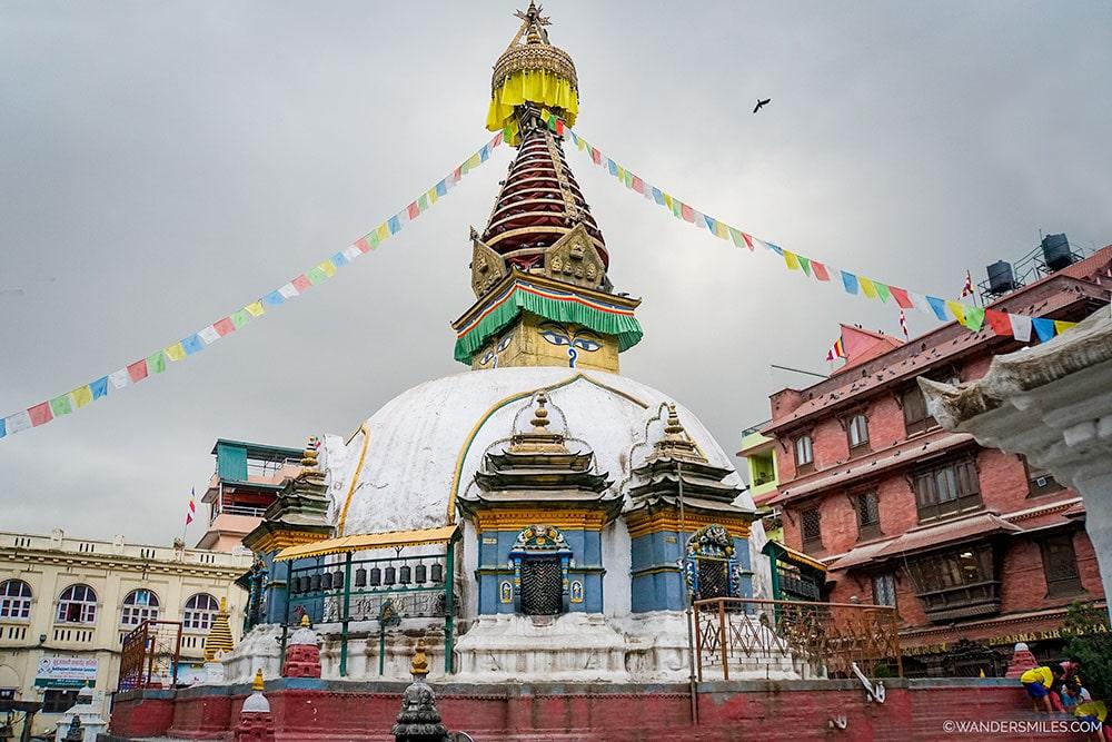 Nateshwar Temple in Thahity Chowk, Kathmandu
