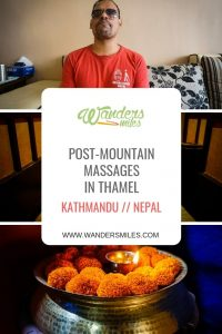 Post mountain massges in Thamel