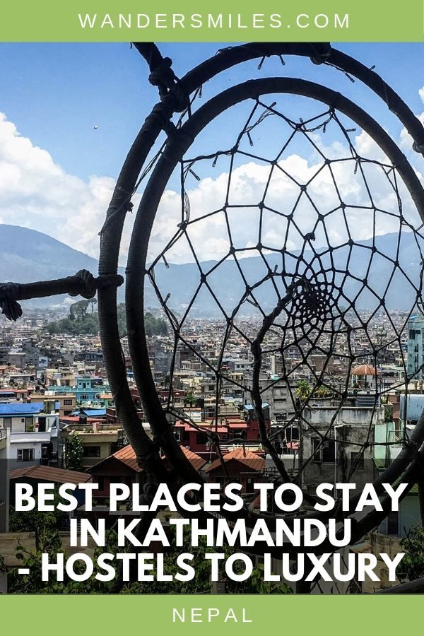 Best places to stay in the city of Kathmandu in Nepal recommended by travel bloggers