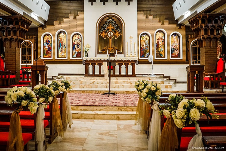 St Joseph's Church in Ankawa, Erbil