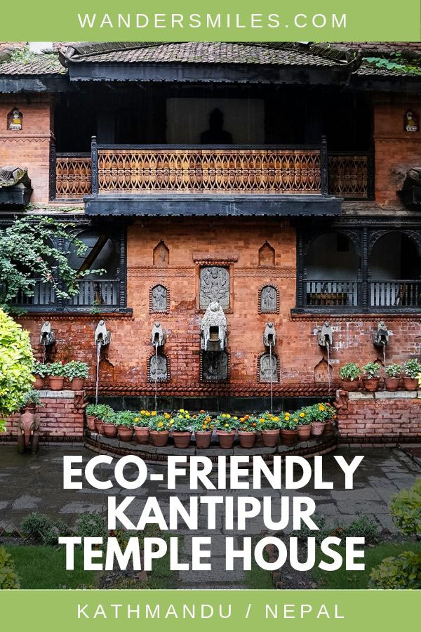 Kantipur Temple House, a traditional Nepalese eco-friendly hotel in Kathmandu