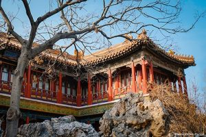 Houses for the concubines at the Forbidden City in Beijing