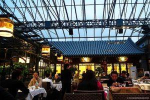 Hua's Restaurant near the Lama Temple in Beijing