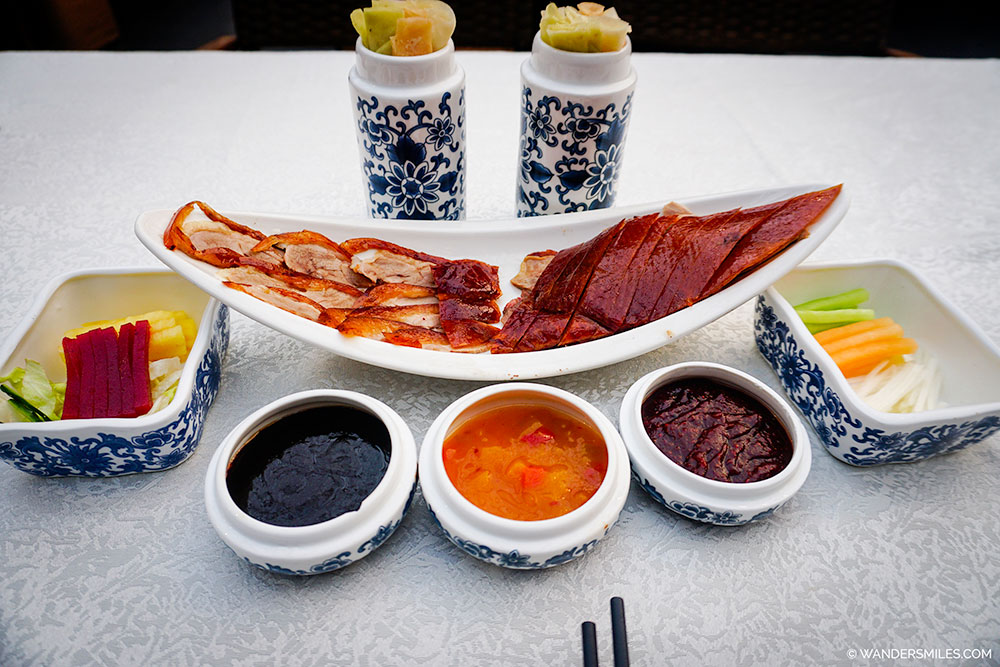 Peking Duck in Huas Restaurant in Beijing