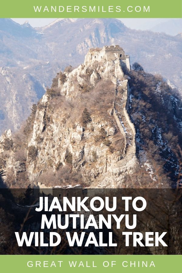 Guide to trekking the Jiankou to Mutianyu Wild Wall section of the Great Wall of China