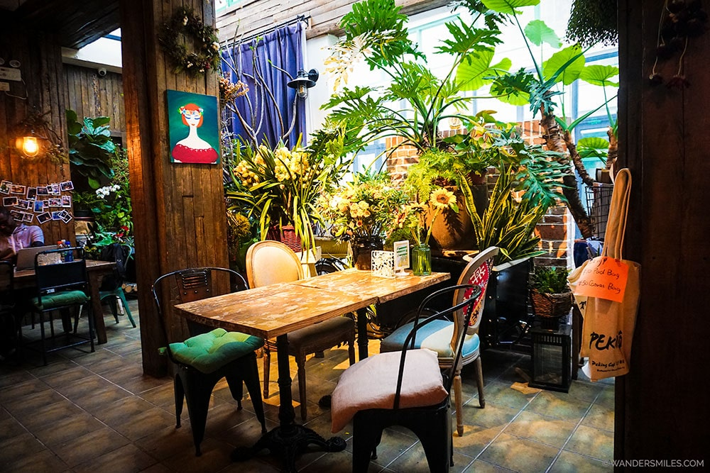 Peking Station Hostel in central Beijing has warm decor, lots of plants and friendly staff.