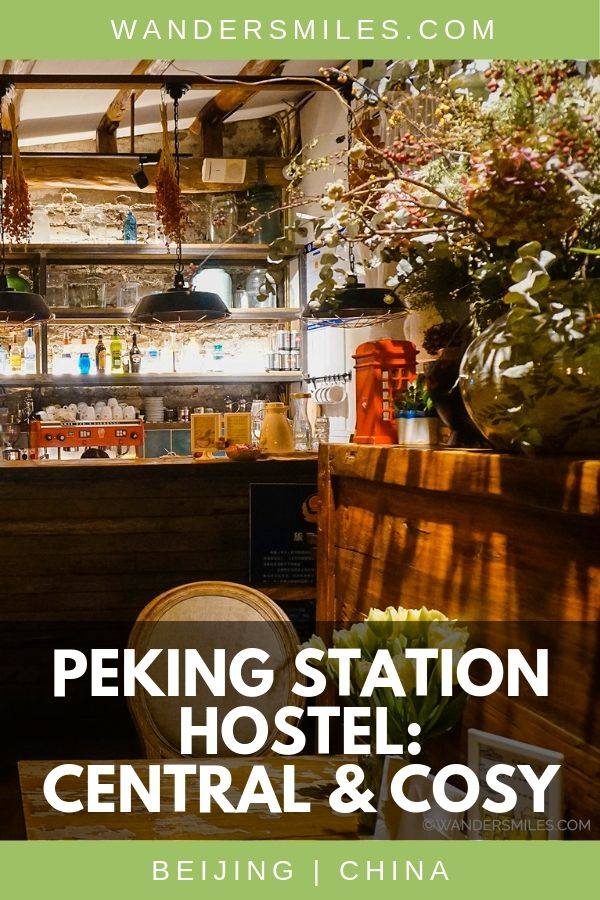 Peking Station Hostel is cosy, great place to unwind and is central in Beijing near to the main train station and cultural highlights
