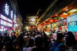 Wangfujing Night Market in Beijing