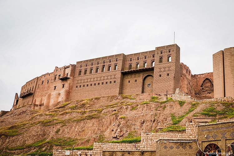 Citadel of Erbil in Iraqi Kurdistan