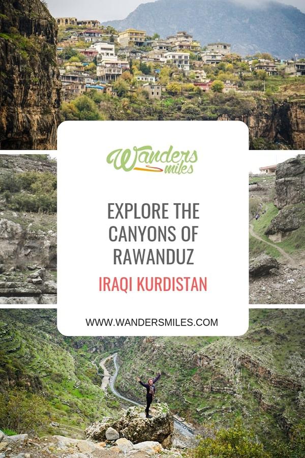 Explore the canyons of Rwanduz, Iraqi Kurdistan. Visit waterfalls and go hiking. Travel blog by Wanders Miles.